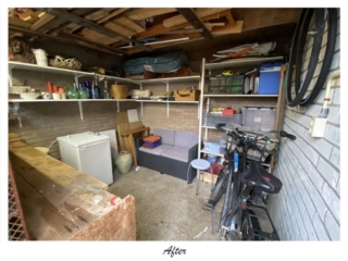 Your SPACE decluttering and organizing of storage spaces